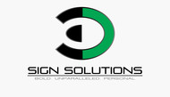 3D Sign Solutions Logo - Entry #110