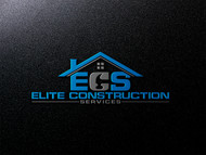 Elite Construction Services or ECS Logo - Entry #92