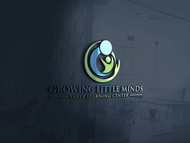 Growing Little Minds Early Learning Center or Growing Little Minds Logo - Entry #101