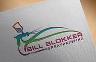 Bill Blokker Spraypainting Logo - Entry #132