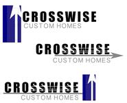 Crosswise Custom Homes Logo - Entry #84