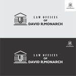 Law Offices of David R. Monarch Logo - Entry #32