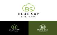 Blue Sky Life Plans Logo - Entry #308