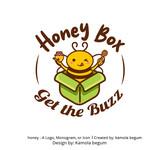 Honey Box Logo - Entry #6
