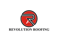 Revolution Roofing Logo - Entry #606