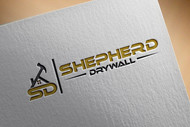Shepherd Drywall Logo - Entry #132