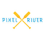 Pixel River Logo - Online Marketing Agency - Entry #199