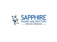 Sapphire Shades and Shutters Logo - Entry #122