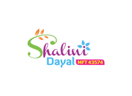 Shalini Dayal, MFT 43574 Logo - Entry #72