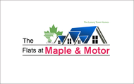 The Flats at Maple & Motor Logo - Entry #121