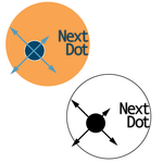 Next Dot Logo - Entry #359