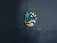 coast to coast canvas Logo - Entry #84