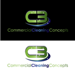 Commercial Cleaning Concepts Logo - Entry #17