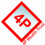 4P Wealth Trust Logo - Entry #183