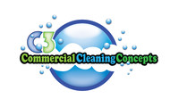 Commercial Cleaning Concepts Logo - Entry #83