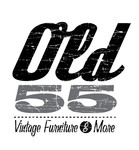 """""""OLD 55"""" - mid-century vintage furniture and wares store Logo - Entry #241"""