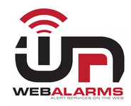 Logo for WebAlarms - Alert services on the web - Entry #127