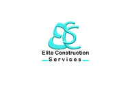 Elite Construction Services or ECS Logo - Entry #230