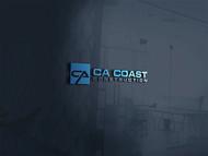 CA Coast Construction Logo - Entry #100