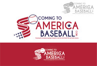 ComingToAmericaBaseball.com Logo - Entry #19