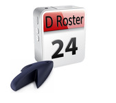 DRoster Logo - Entry #54