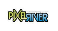 Pixel River Logo - Online Marketing Agency - Entry #169