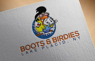 Boots and Birdies Logo - Entry #60