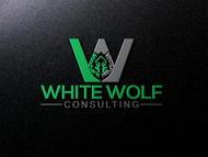 White Wolf Consulting (optional LLC) Logo - Entry #385