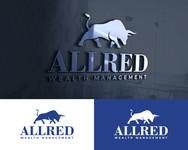 ALLRED WEALTH MANAGEMENT Logo - Entry #608