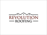 Revolution Roofing Logo - Entry #502