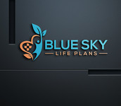 Blue Sky Life Plans Logo - Entry #121