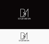 B&A Uniforms Logo - Entry #6