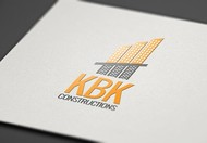 KBK constructions Logo - Entry #80