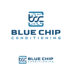 Blue Chip Conditioning Logo - Entry #98