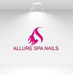 Allure Spa Nails Logo - Entry #178