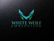 White Wolf Consulting (optional LLC) Logo - Entry #448