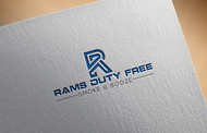 Rams Duty Free + Smoke & Booze Logo - Entry #158