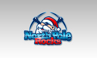 North Pole Rocks Logo - Entry #3