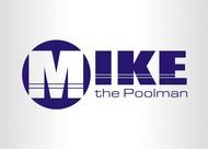Mike the Poolman  Logo - Entry #129