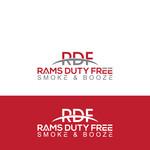 Rams Duty Free + Smoke & Booze Logo - Entry #80