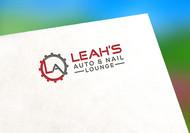 Leah's auto & nail lounge Logo - Entry #104