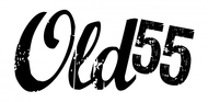 """""""OLD 55"""" - mid-century vintage furniture and wares store Logo - Entry #73"""