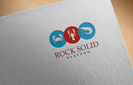 Rock Solid Seafood Logo - Entry #190