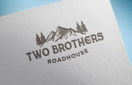 Two Brothers Roadhouse Logo - Entry #126