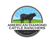 American Diamond Cattle Ranchers Logo - Entry #61