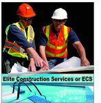 Elite Construction Services or ECS Logo - Entry #259