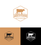 American Diamond Cattle Ranchers Logo - Entry #41