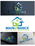 MAIN2NANCE BUILDING SERVICES Logo - Entry #303