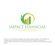 Impact Financial coaching Logo - Entry #84