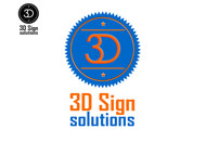 3D Sign Solutions Logo - Entry #59